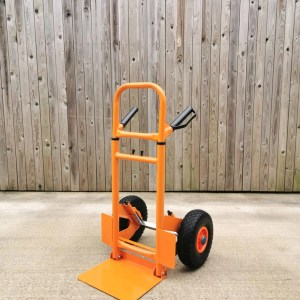 The Collapsible hand trolley from Sheds Direct Ireland at compacted height