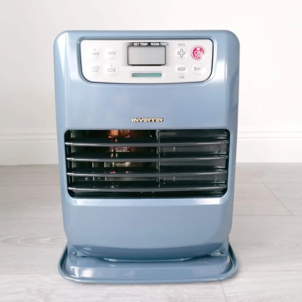 The Minimax Heater in a shade of Blue