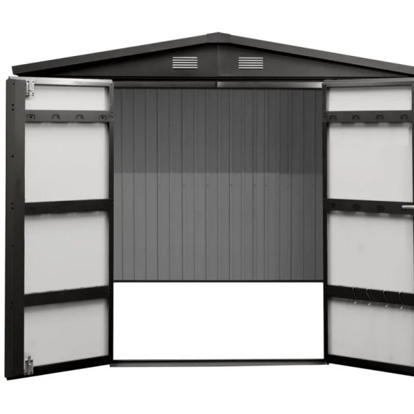 High quality steel shed