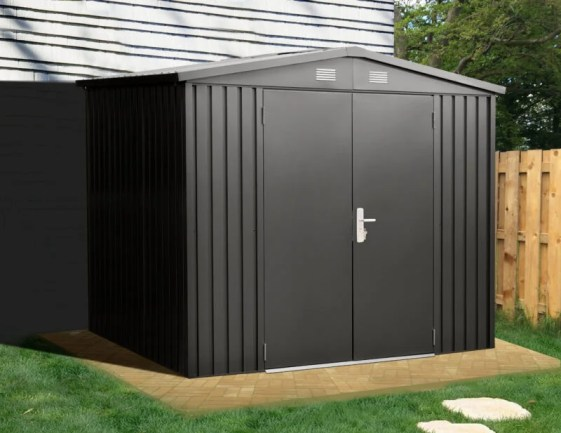 Premium Shed 8ft wide x 6ft deep Premium Steel Shed