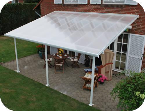 palram 10x20 feria patio cover kit white