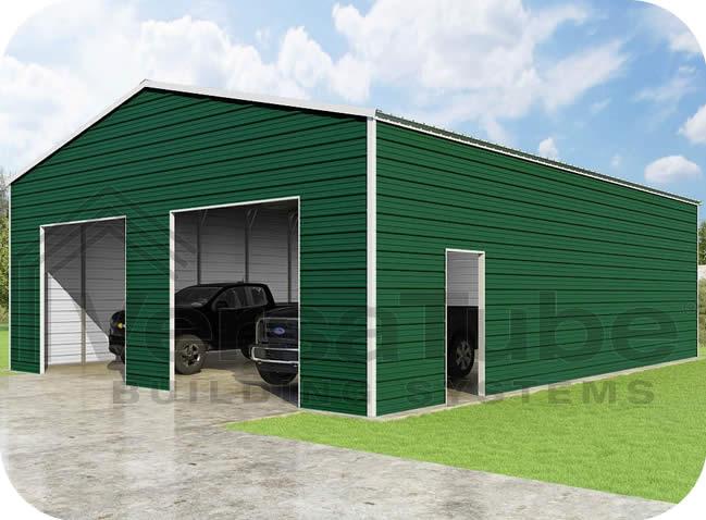 VersaTube 30x40x12 Frontier Steel Garage Kit FBM33040120529X9