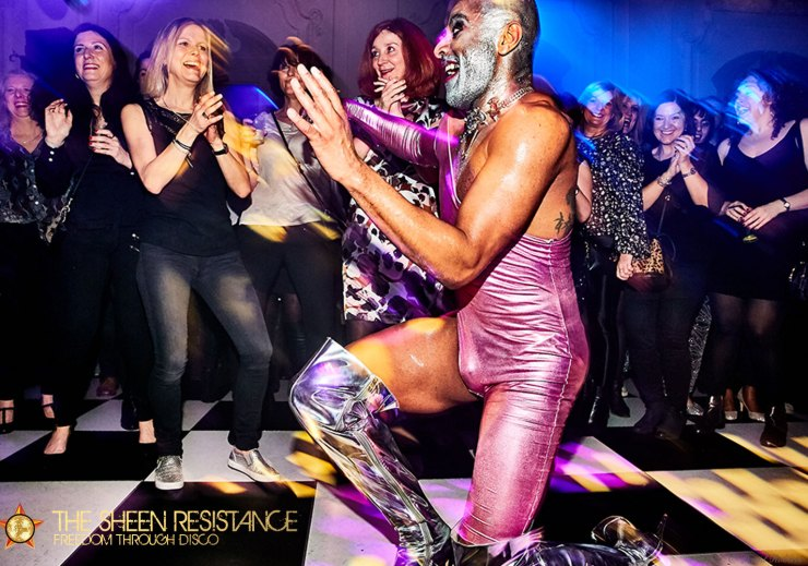 Lost in Disco Bush Hall London Sheen Resistance Hot Heels