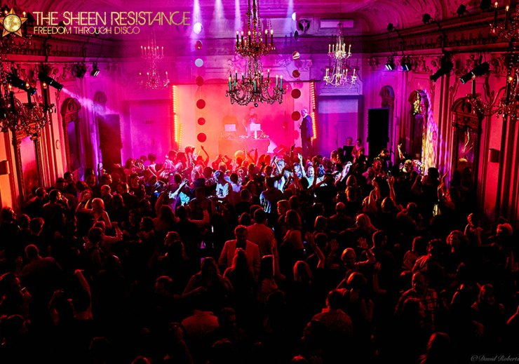 Lost In Disco Bush Hall Hot Heels London Sheen-Resistance