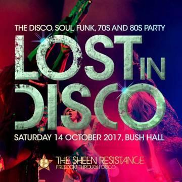 Lost In Disco London Bush Hall 70s night classic disco