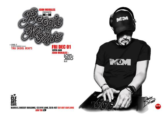 John Morales M+M presents Boogie Nights