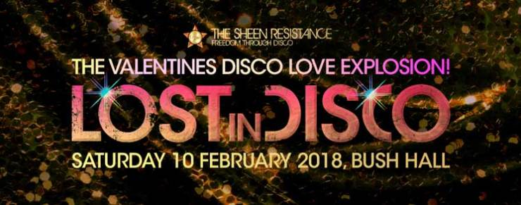 Lost In Disco Valentines Disco Love Explosion