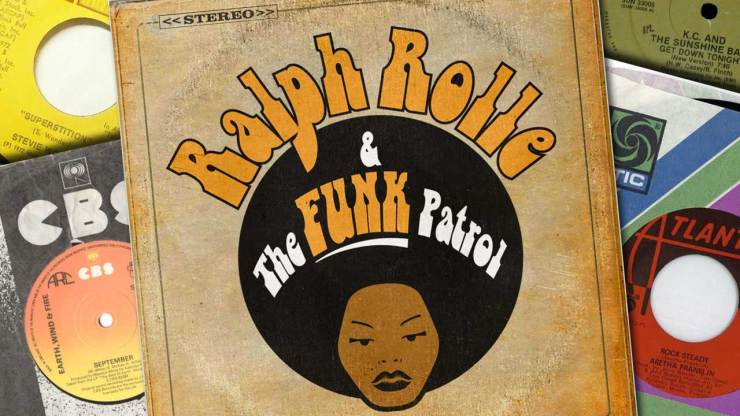 Ralph Rolle and the funk patrol live in London Sheen Resistance