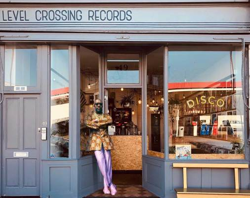 Level Crossing Records Sheen Resistance Disco Takeover