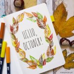 Fall Bullet Journal Cover Pages Sheena Of The Journal