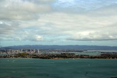 Aussicht auf Auckland