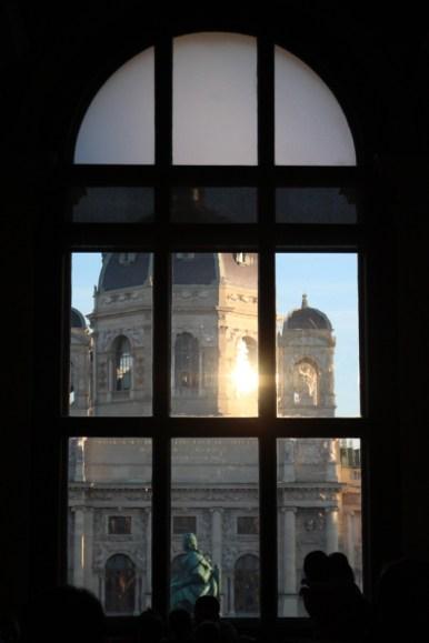 Ausblick aus dem Café-Fenster