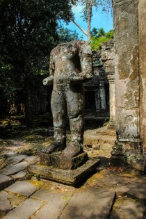 Tempelwächter vor Preah Khan