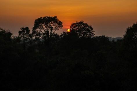 Sonnenuntergang in Pre Rup