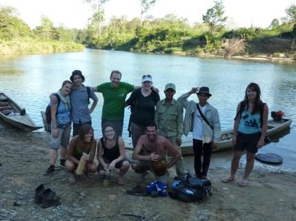 Unsere Trekking-Gruppe