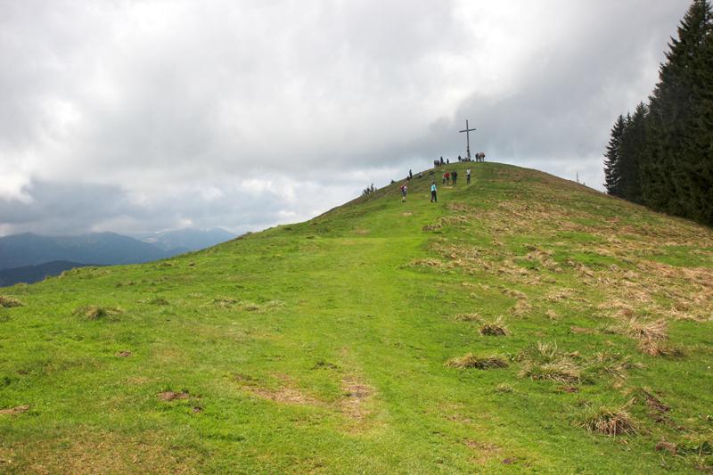 Aufstieg zum Blomberg