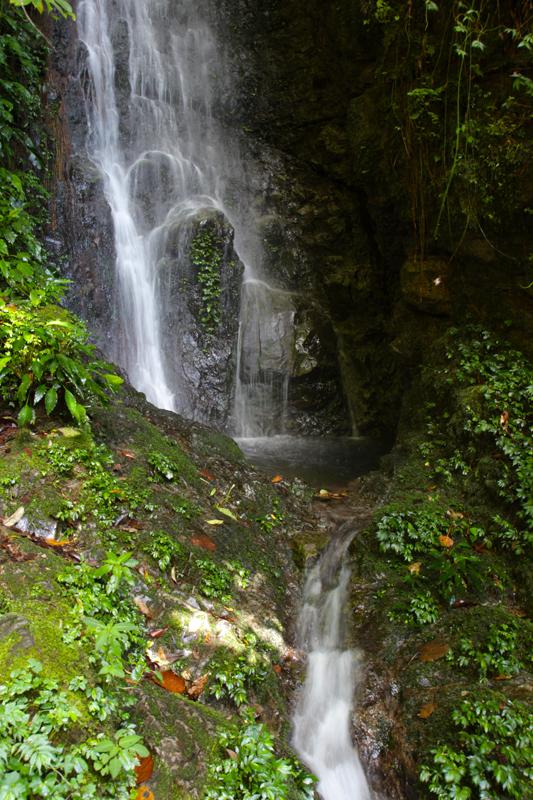 Dawsons Fall am Anfang des Trails auf den Mount Kinabalu