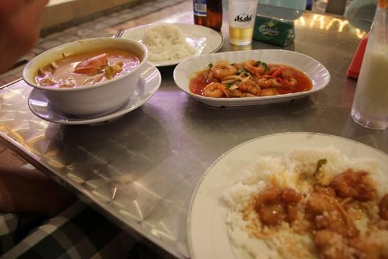 Essen in Sandakan