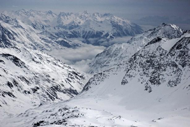 Wunderschönes Alpenpanorama