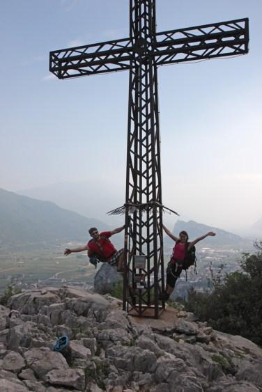 Gipfelkreuz vom Monte Colodri