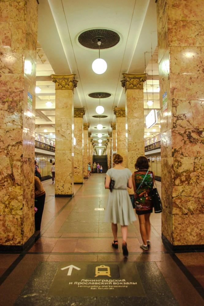 Metrostation Komsomolskaya