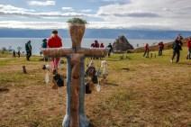 Schamnische Riten am Baikalsee