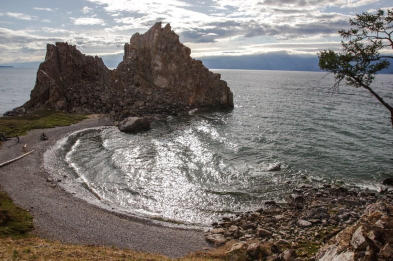 Schamanenfelsen am Baikalsee