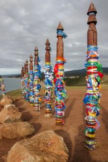 Schamanenbräuche am Baikalsee