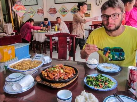 Mittagessen in Peking