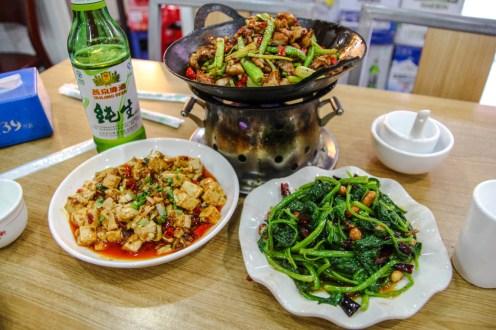 Mittagessen in Peking: Sechuan Style