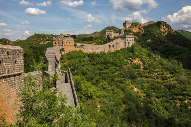 Die Mauer von Jinshanling