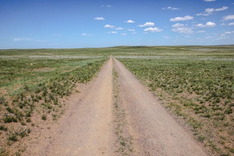 Auf dem Weg in die Wüste Gobi