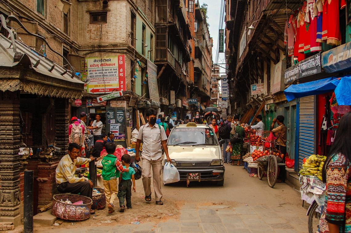 Chaos in Kathmandu