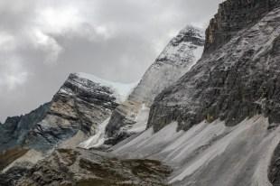 Fels- und Eiswände vom Mt. Jampelyang