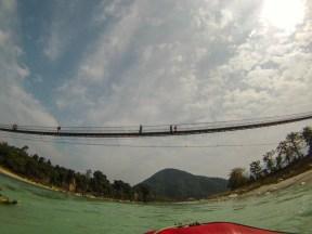 Brücken über den Seti Fluss