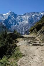 Akklimatisierungstag in Namche Bazaar - wir besuchen die Sherpa Dörfer Kungde und Khumjung