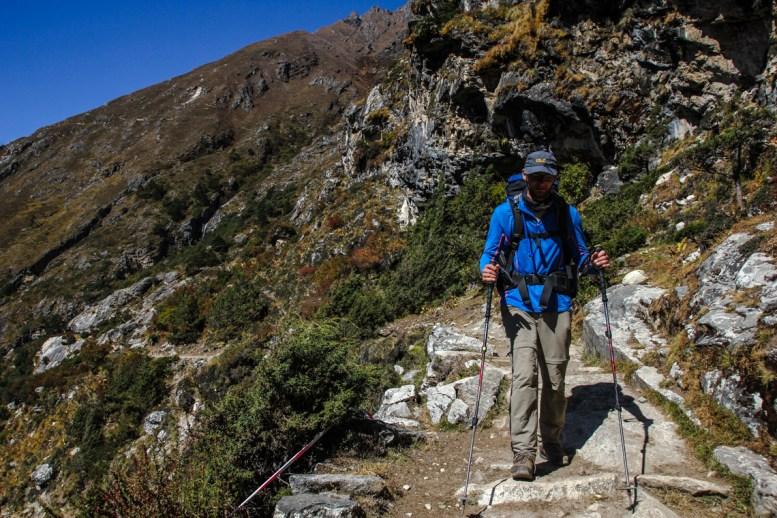 Auf dem Weg nach Dingboche