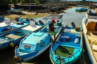 Hafen in Puerto Ayora