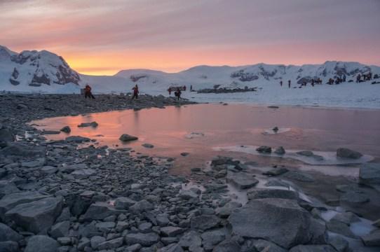 Sonnenaufgang am nächsten Morgen © Amanda Zeisset