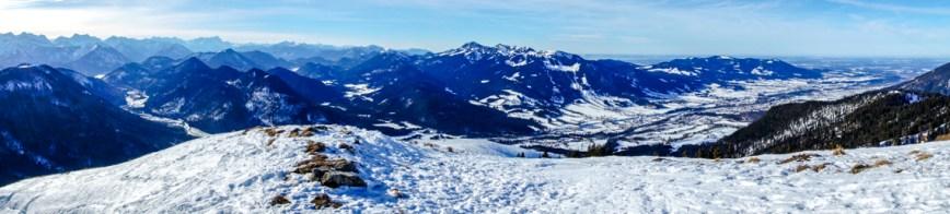 Gipfelpanorama vom Schönberg