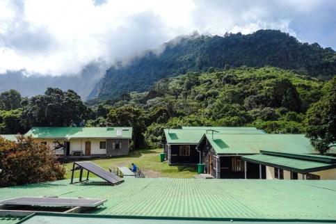 Aussichtsplattform auf der Miriakamba Hütte