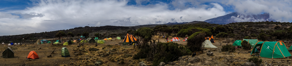 Shira Plateau Camp