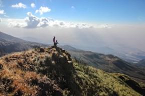 Auf dem Gipfel des Little Meru