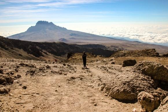 Abstieg vom Kilimanjaro