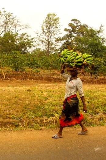 Bananenfrau