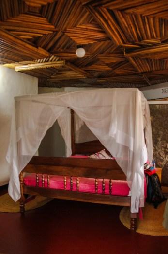 Unser Zimmer in der Bougainvillea Lodge