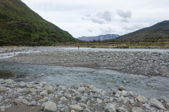 Flussquerungen auf dem Tui Track