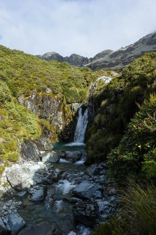 52. Tag (16km) - Upper Waiau Forks bis West Sabine Hut