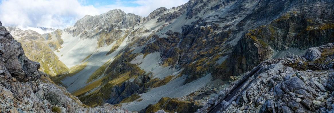 Blick vom Waiau Pass
