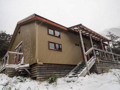 Gerettet: Ankunft an der Upper Traverse Hut